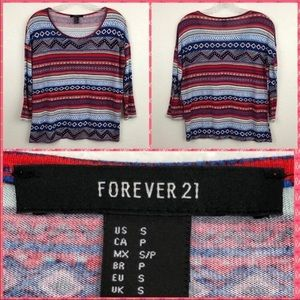 Colorful Forever 21 Top Small
